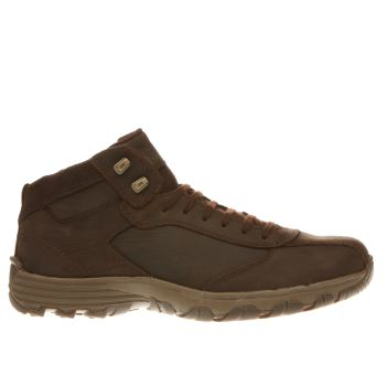 Cat-Footwear Brown Loop Mens Boots