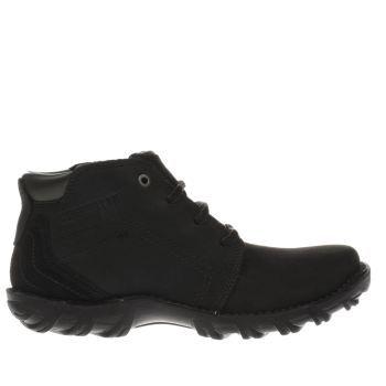 Mens Caterpillar Black Transform Boots