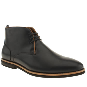Mens Peter Werth Navy Bloom Boots