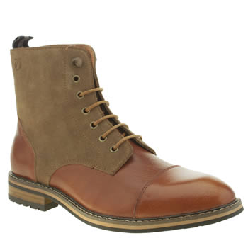 Mens Peter Werth Tan Winstone Boots