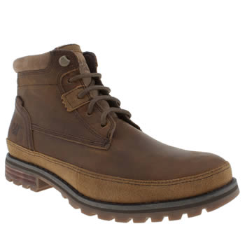 Caterpillar Brown Oatman Boots