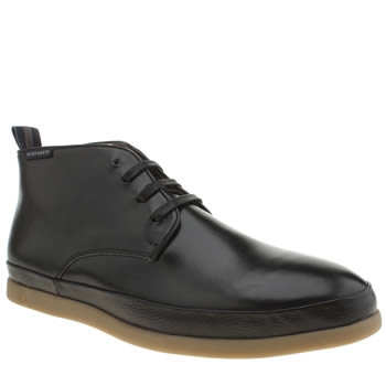 Mens Peter Werth Black Cain Chukka Boots