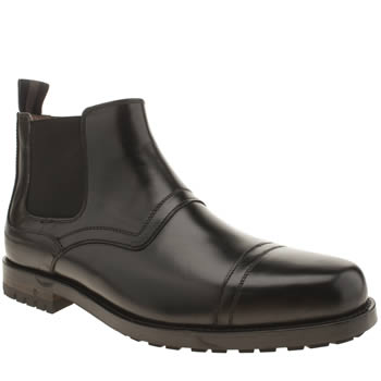 Mens Peter Werth Black Hardy Chelsea Boots