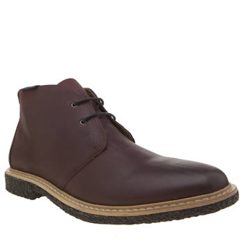 Peter Werth Burgundy Elba Desert Mens Boots