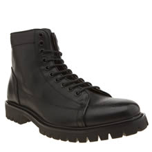 Peter Werth Black Oldman Monkey Mens Boots