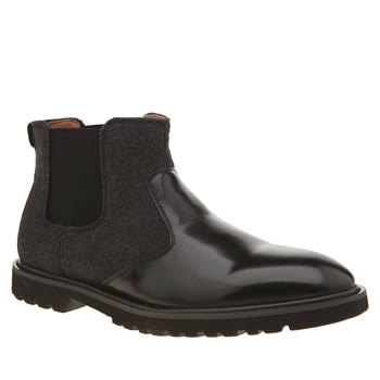 Peter Werth Black Laurie Chelsea Boots