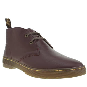 Dr Martens Burgundy Cruise Cabrillo Boots