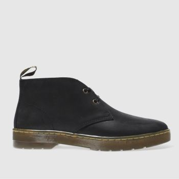 Mens Dr Martens Black Cruise Cabrillo Boots