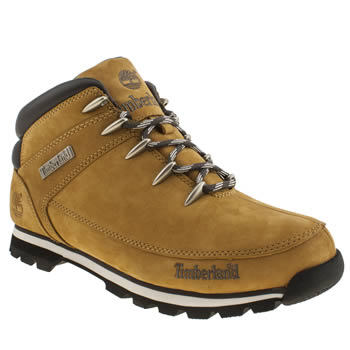 mens timberland natural eurosprint boots