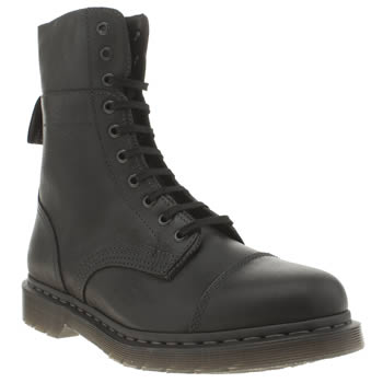Mens Dr Martens Black Triumph Hayes 10-eye Boots