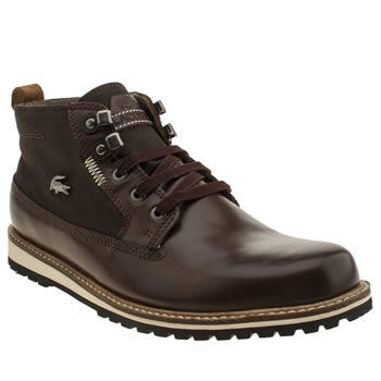 Mens Lacoste Brown Delevan 4 Boots