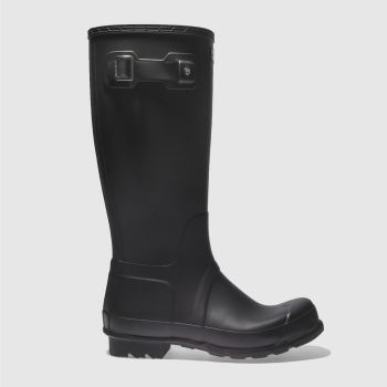 Hunter Black Original Tall Mens Boots