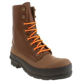 Mens Hunter Tan Lace Up Boots