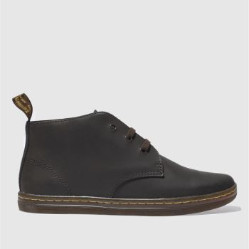 Mens Dr Martens Dark Brown Will Desert Boot Boots