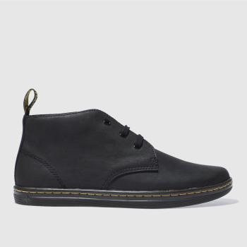 Mens Dr Martens Black Will Desert Boots
