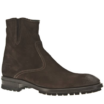 Paul Smith Shoes Dark Brown Fritz Boots