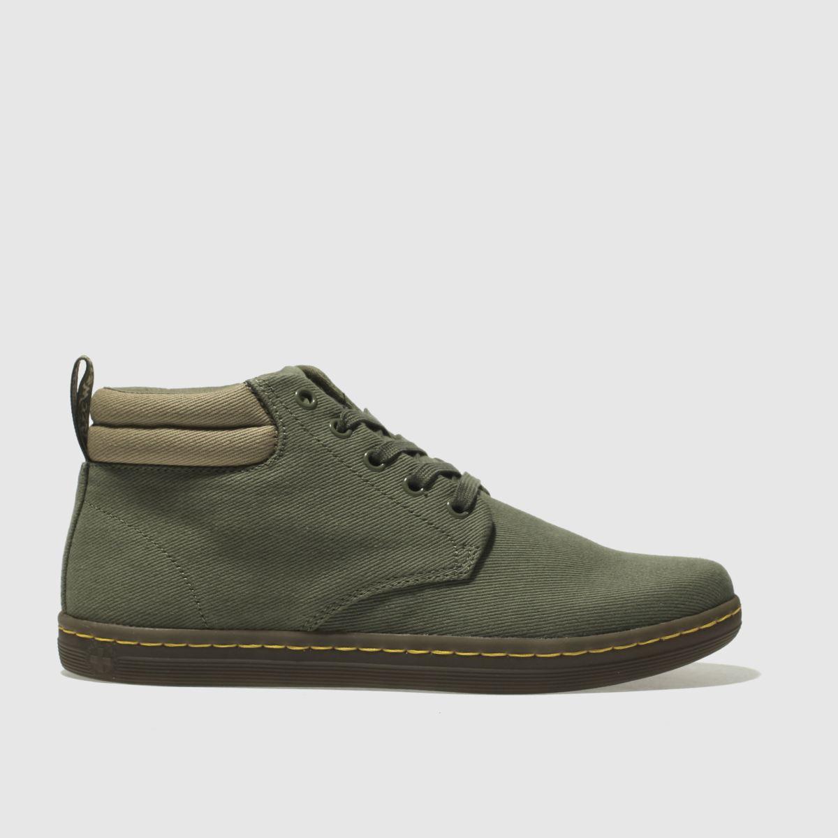 Dr Martens Khaki Maleke Boots