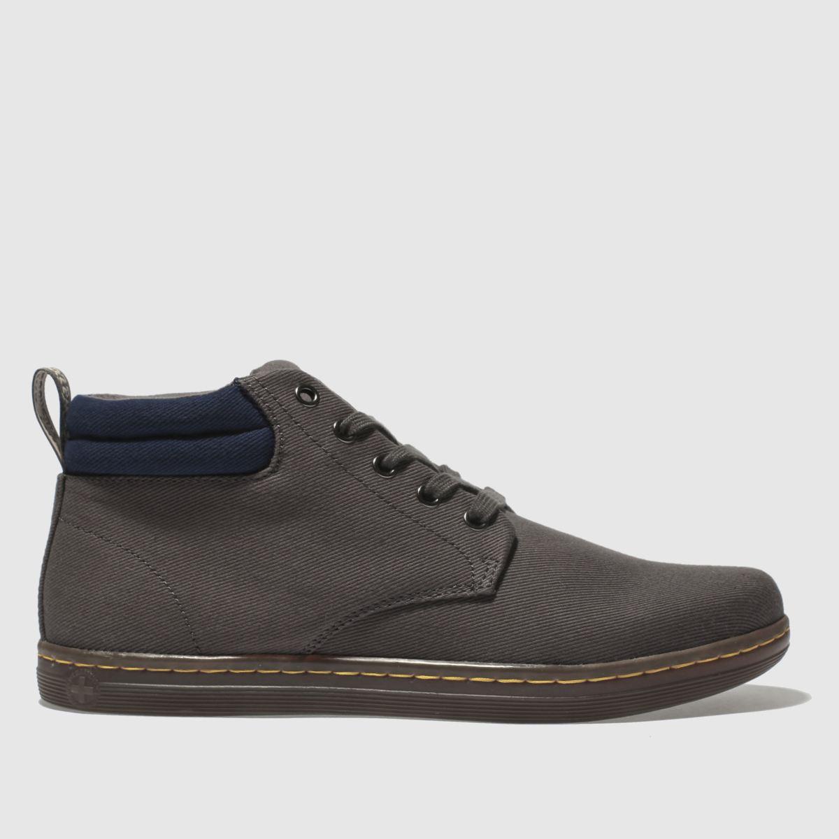 Dr Martens Grey Maleke Boots