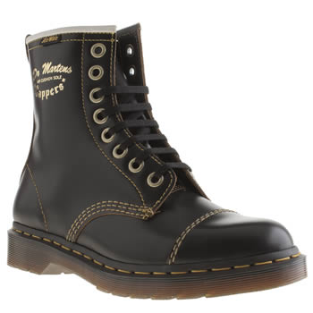 Dr Martens Black Philips Capper Boots