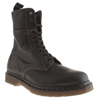 Mens Dr Martens Black Bart 10 Eye Boot Boots