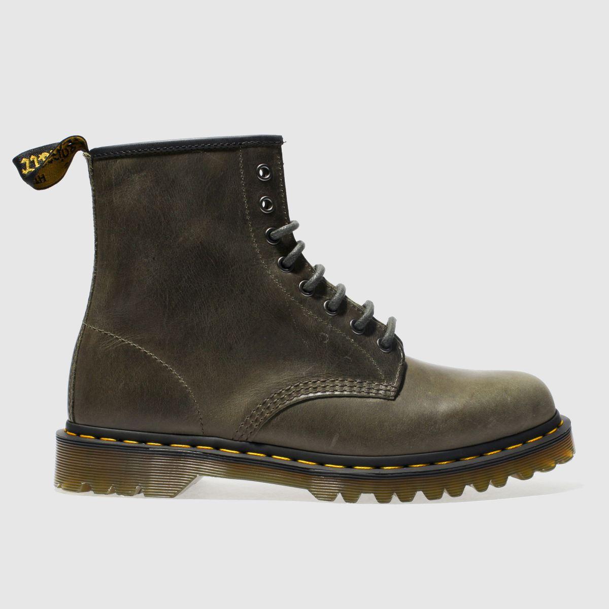 Dr Martens Khaki 1460 8-eye Boots
