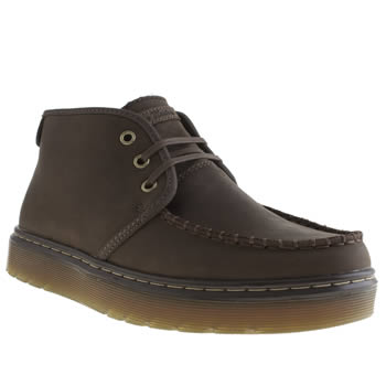 Mens Dr Martens Dark Brown Classic Cambridge Boots