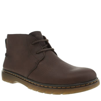 Dr Martens Dark Brown Revive Ember Desert Boots