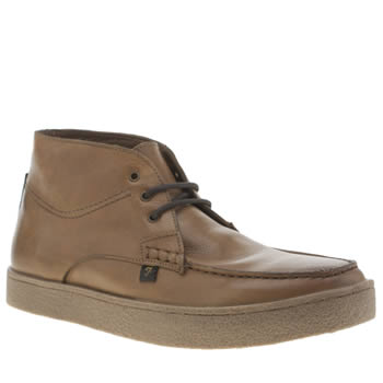 Farah Tan Form Hi Mens Boots
