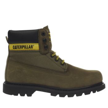 Cat-Footwear Khaki Colorado Work Mens Boots