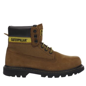 Cat-Footwear Tan Colorado Work Mens Boots