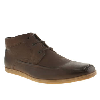 Base London Brown Weekend Chukka Boots