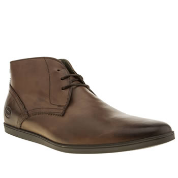 Base London Brown Coast Chukka Boots