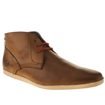 Base London Tan Coast Chukka Boots