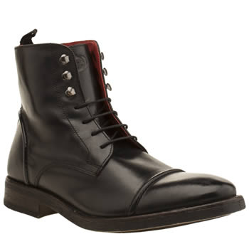Base London Black Park Cap Boots