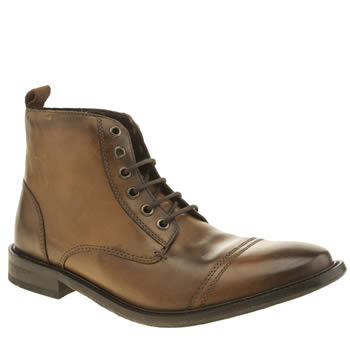 Base London Tan Max Washed Cap Boots