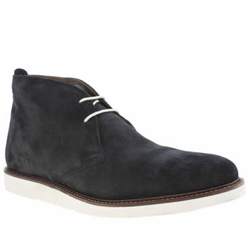 Base London Blue Cobden Chukka Boots