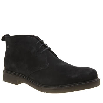 Base London Navy Rufus Boots