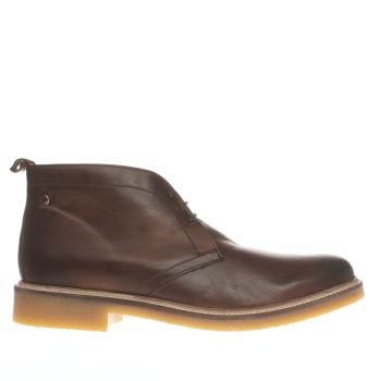 Base London Brown Rufus Mens Boots