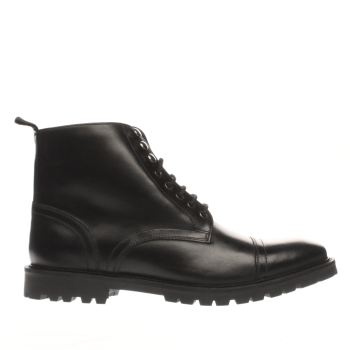 Base London Black Siege Mens Boots