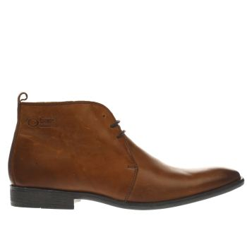 Base London Brown Spice Derby Shoes