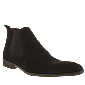 Base London Black Spice Chelsea Boots