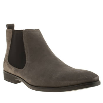 Base London Grey Spice Chelsea Boots