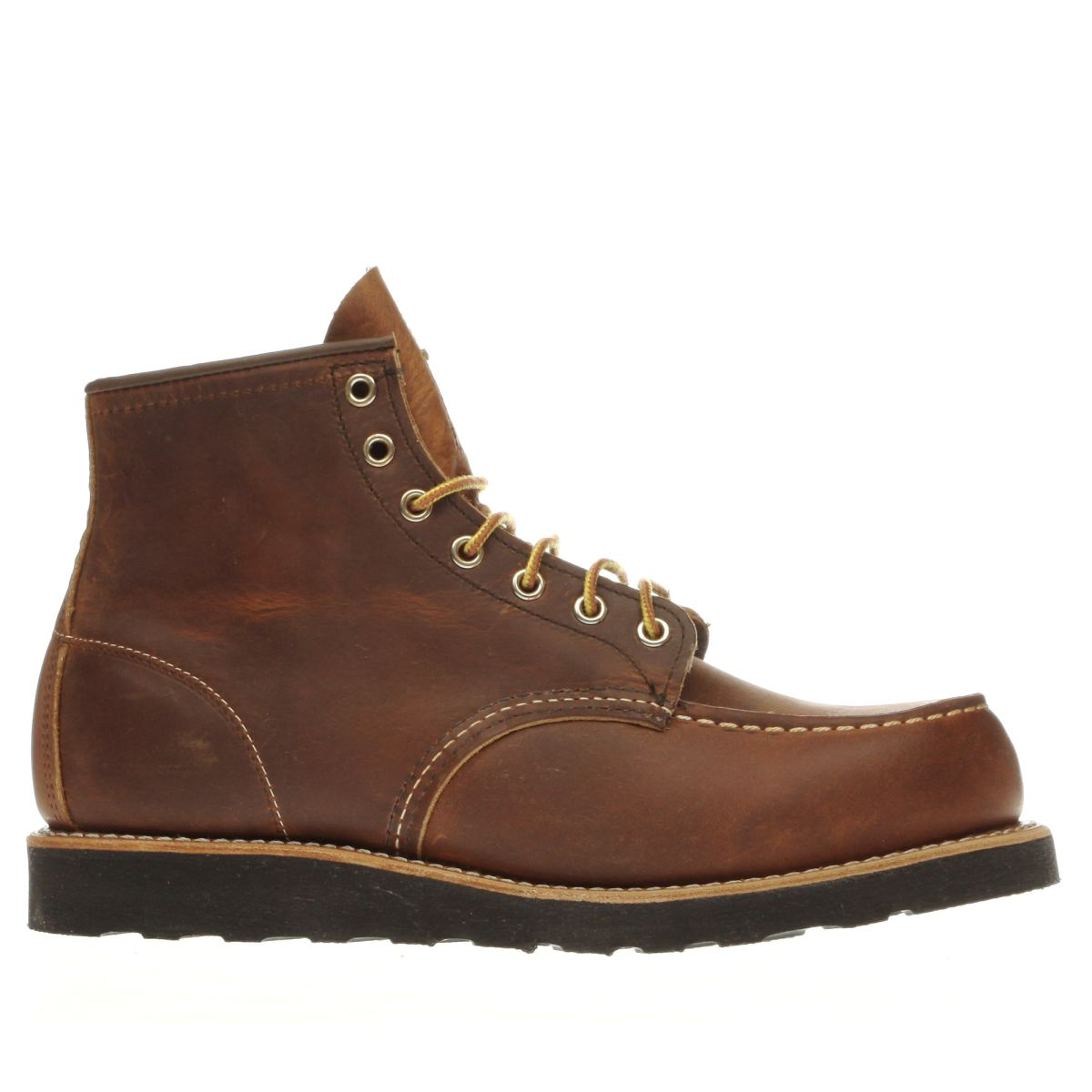 red wing brown work boots