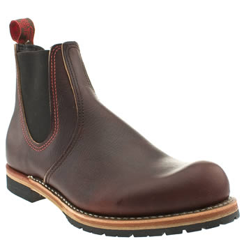 Red Wing Dark Brown Chelsea Boots