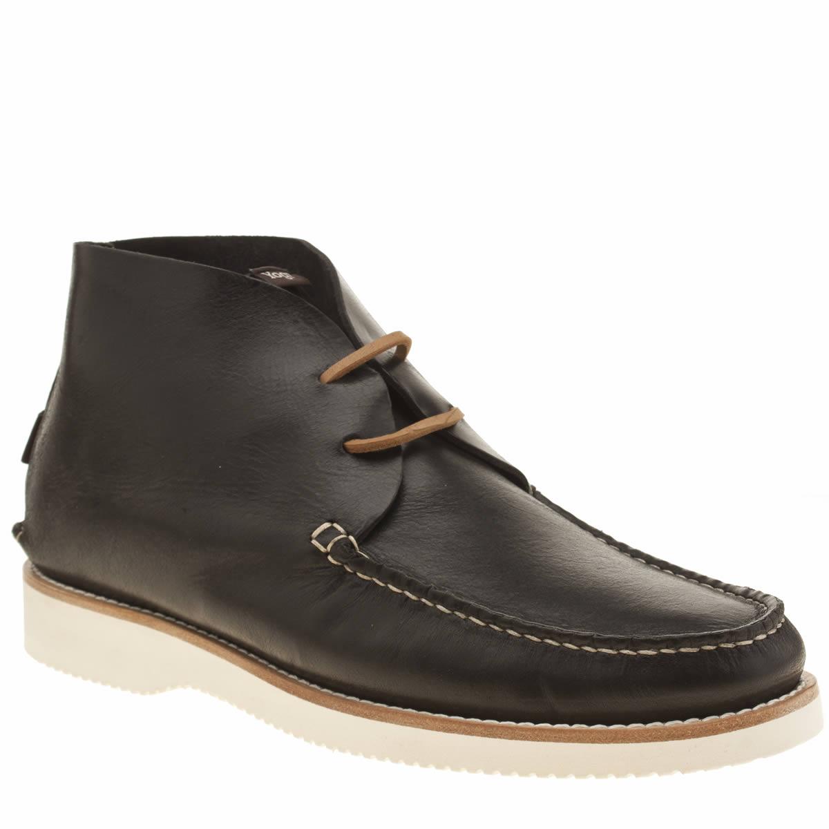 yogi Yogi Black Lucus Vibram Boot Mens Boots