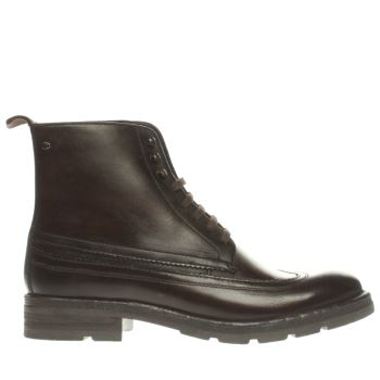 Base London Dark Brown Valiant Boots