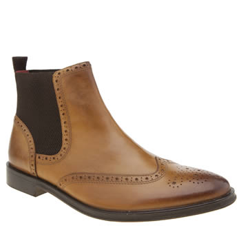 Base London Tan Compton Mens Boots