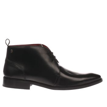 Base London Black County Chukka Boots