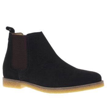 Base London Black Tournament Chelsea Mens Boots
