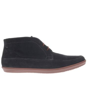 BASE LONDON NAVY GIG CHUKKA BOOTS